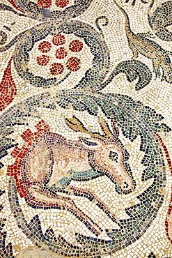 Ancient mosaik, Villa Romana Casale, Piazza Armerina, Sicily, Italy
