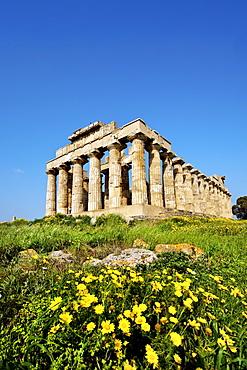 Temple E, Selinute, Sicily, Italy