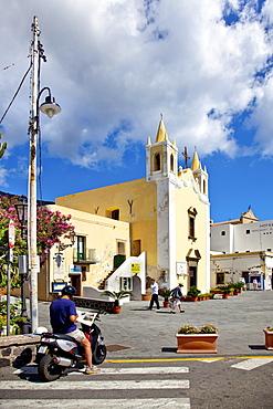 Church Santa Marina, Santa Maria, Salina Island, Aeolian islands, Sicily, Italy