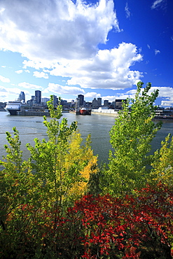 Overlooking the old port, Montreal, Quebec, Canada