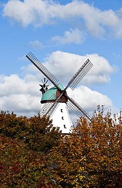 Windmill Amanda, Kappeln, Schleswig-Holstein, Germany