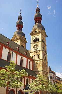 Church of Our Lady, Koblenz, Rhineland-Palatinate, Germany, Europe