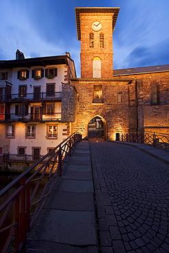 Saint-Jean-Pied-de Port, Camino Frances, Way of St. James, Camino de Santiago, pilgrims way, UNESCO World Heritage Site, European Cultural Route, Pyrenees Atlantiques, Suedfrankreich, Frankreich, Europe