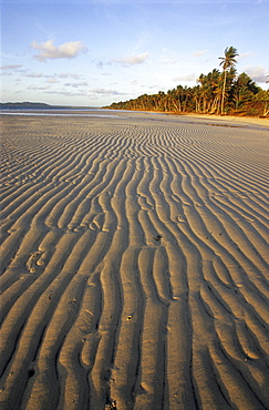 Chili Beach im the Iron Range National Park on the Cape York Peninsula, Queensland, Australia