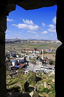 Monolithic church near Cavusim, Goereme valley, Goereme, Cappadocia, Turkey