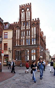Archidiakonat, hanseatic city Wismar, Mecklenburg-Western Pomerania, Germany