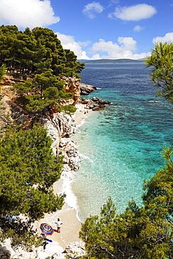 Bay near Jagodna, Hvar, Split-Dalmatia, Croatia