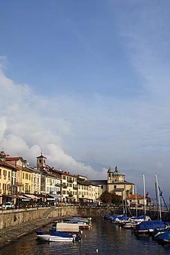 Pier, Cannobio, Lago Maggiore, Piedmont, Italy