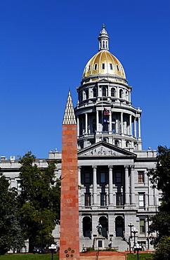 State Capitol Building, architect Elijah E. Myers, 200 East Colfax Avenue, Denver, Colorado, USA, North America, America