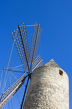 Windmill in Manacor, Manacor, Mallorca, Balearic Islands, Spain