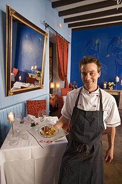 Zezo Restaurant Executive Chef Kai Olischar, Sant Salvador Hotel, Arta, Mallorca, Balearic Islands, Spain
