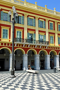 Newly redisigned Place Massena, Galerie Lafayette, Cote d Azur, Nice, Provence, France