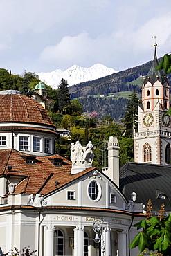 Spa town Meran, Alto Adige, South Tyrol, Italy