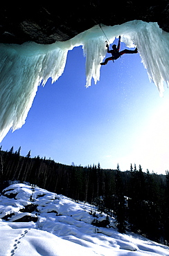 Ice Climbing, Goljuvet, Norway