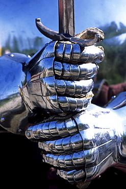 Knight in Shining Armor, Middelaldercentret, Medieval Museum, Sundby, Lolland, Denmark