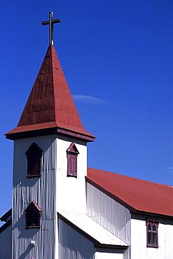 Corrugated Iron Church, Bolungarvik, Iceland