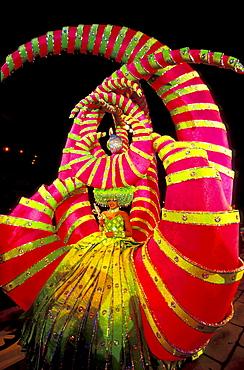 Carneval's queen, Carnival, Gran Canaria, Canary Islands, Spain