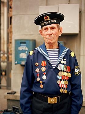 War veteran, Moscow, Russia