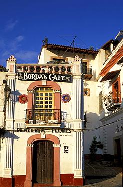 Facade at Taxco, Guerrero, Mexico