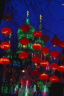 Ice sculpture-festival, Ice Lantern Show, Harbin, China