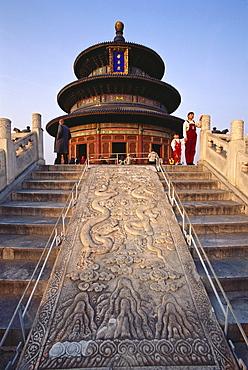 Qinan Hall, Temple of Heaven, Beijing, China