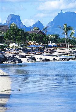 Beach, Hotel Oberoi, Mauritius