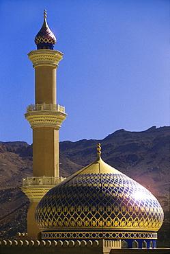 Mosque in Nizwa, Nizwa, Oman, Middle East