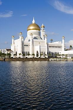 Omar Ali Saifuddien Mosque, Bandar Seri Begawan, Brunei, Darussalam, Asia