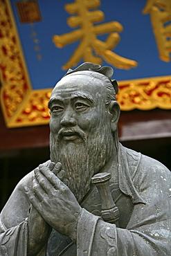 Confucian Temple, Wen Miao, series of Courtyards, Confuzius, Konfuzius, old town
