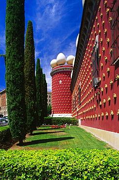 Museum, Teatre-Museu Dali (Salvador Dali), Figueres, Province Girona, Catalonia, Spain
