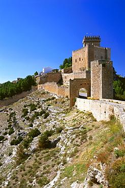 Hotel-Parador, Castle, Alarcon, Province Cuenca, Castilla-La Mancha, Spain