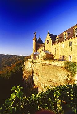 Monastery Mont Ste-Odile, Elsass, France00058474