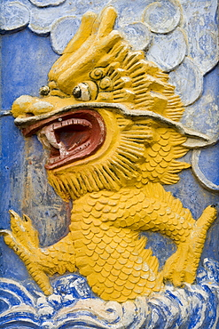 Dragon Detail on Shibaozhai Pavilion, Yangtze River, Shibaozhai, China