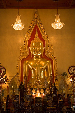 Gilded Buddha Shrine, Wat Suthat, Bangkok, Thailand