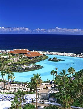 Lago Marti·nez, Puerto de la Cruz, Tenerife, Canary Islands, Spain