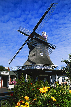 Windmill, Norderney Island, East Frisian Islands, Germany
