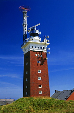 Lighthouse, Heligoland Island, North Sea, East Frisia, Germany
