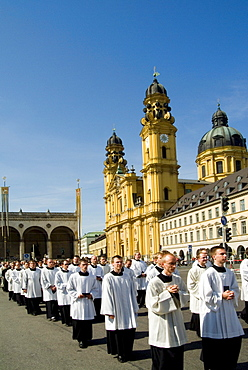 Feast of Corpus Christi, Munich, Bavaria, Germany