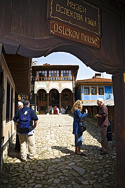 Oslekov house, museum town Koprivstiza, Bulgaria, Europe