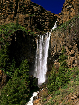 Waterfall Cascada de Soria, Soria, Gran Canaria, Canary Islands, Spain, Cascada de Soria