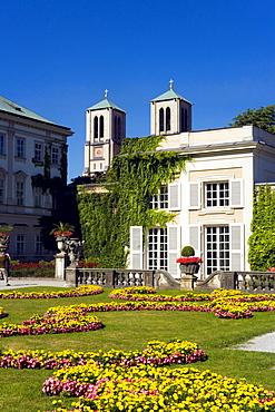 Part of the Mirabell garden, Salzburg, Salzburg, Austria