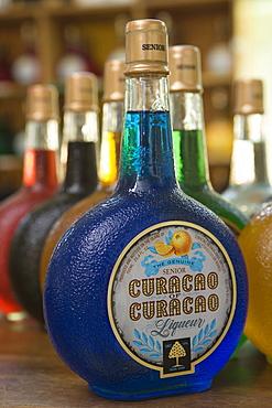 Blue Curacao Liqueur, Curacao Liqueur Distillery, Landhuis Chobolobo, Salina, Willemstad, Curacao, Netherlands Antilles