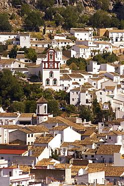 Spain Andalucia pueblo blanco Grazalema