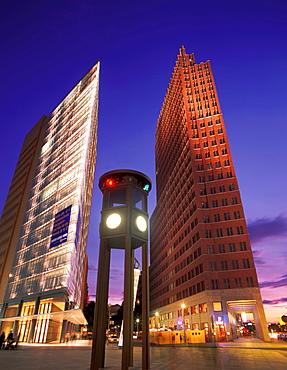 Highrises, Potsdamer Platz, Berlin