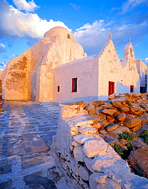 Poraportiani, Church, Mykonos, Cyclades, Greece
