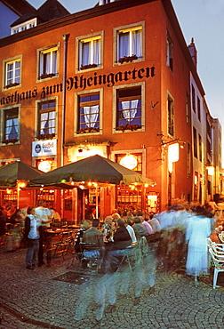 Cafe, Oldtown, Cologne, Germany