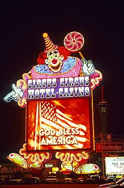 USA, Nevada, Las Vegas, Hotel Casino ''Circus, Circus''
