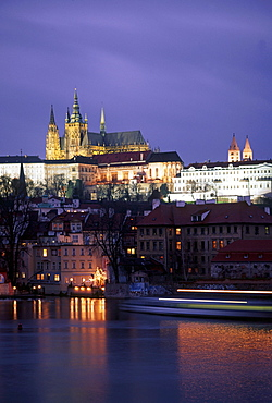 Charles Bridge, Hradschin, Castle, Prague, Czech Republic