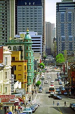 USA CA San Francisco downtown