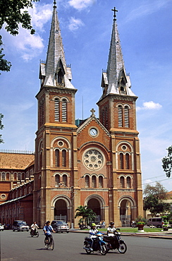Saigon, Ho Chi Ming City, Notre Dame, church